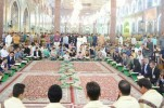 Iranian Qari Attends Quran Recitation Session at Imam Hussein (AS) Holy Shrine