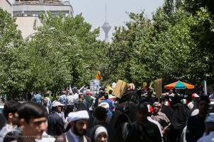Massive Rallies in Iran on Quds Day