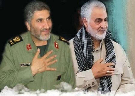 سردار شهید احمد کاظمی به روایت سردار شهید سلیمانی + فیلم